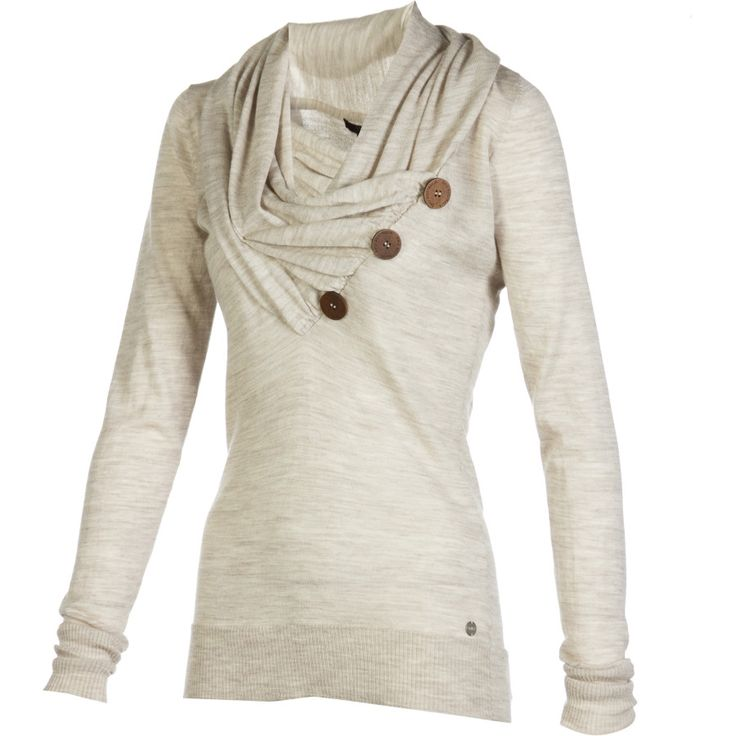 Love this sweater - it looks so comfortable, but is stylish and fitted.
