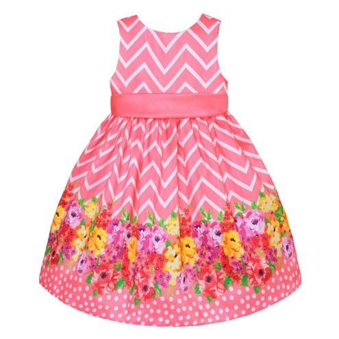 WOW!!! Imagine how cute your girl would look like in this #floraldress!!!