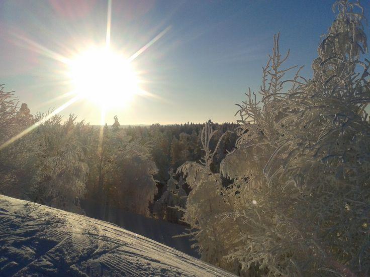 Lumi ja aurinko - voittamaton kaksikko!