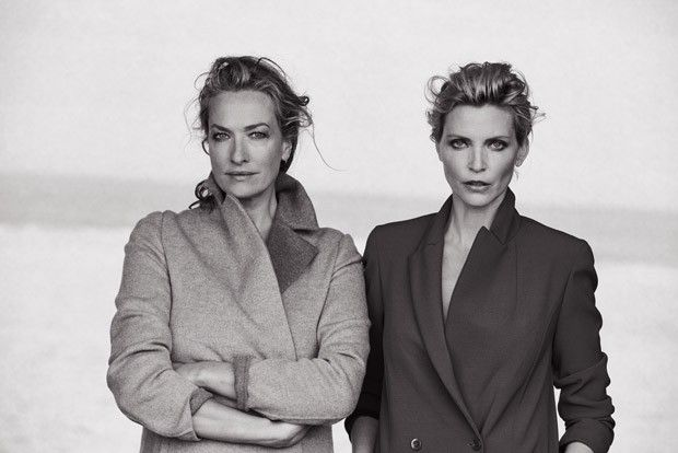 Supermodels Reunion by Peter Lindbergh for Italian Vogue