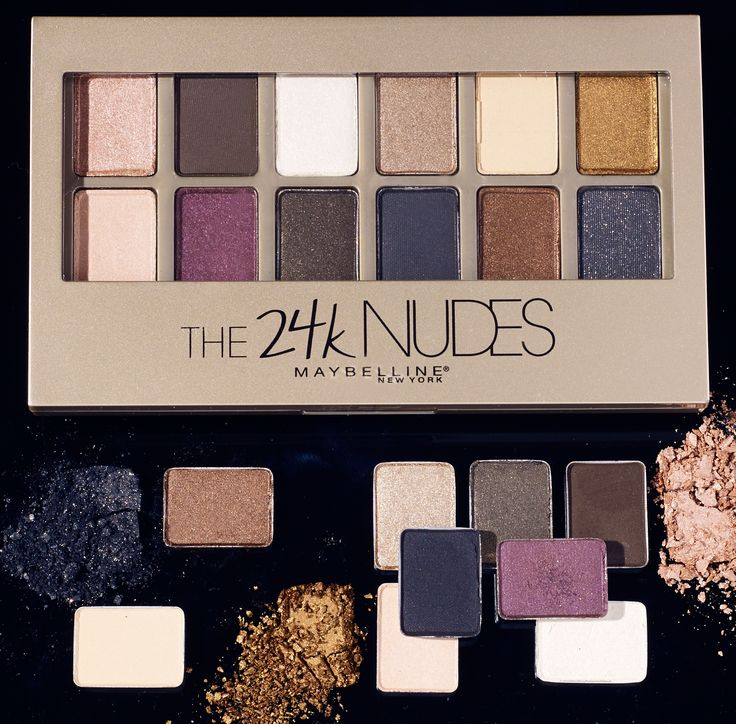 Get gorgeously glam with the NEW 24k Nudes eye palette. This latest addition to our nudes palette collection has been reformulated to bring deeper pigmentation and a more silky texture and offers 12 shades of stunning, gold and jewel toned hues perfect for creating endless eye looks of your choosing.