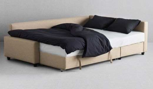 friheten corner sofa bed skiftebo beige length 230 cm seat width chaise longue 68 cm depth. Black Bedroom Furniture Sets. Home Design Ideas