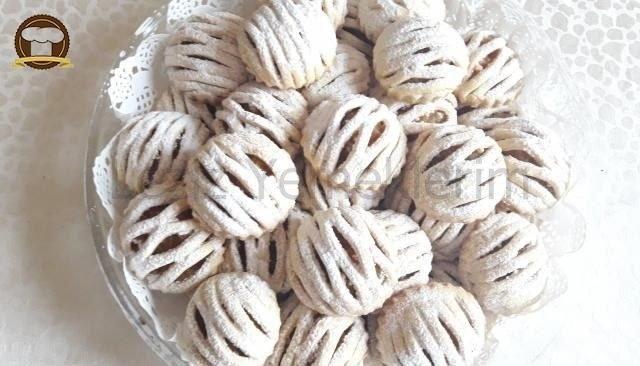 Elmalı Kafes Kurabiyeler nasıl yapılır? Elmalı Kafes Kurabiyeler Tarifi için malzeme listesi, kalori bilgisi, detaylı anlatımı, tarife ait fotoğraf ve yapılış videosu için tıklayınız. (335 kalori) Gönderen: Nilüfer'in mutfağı
