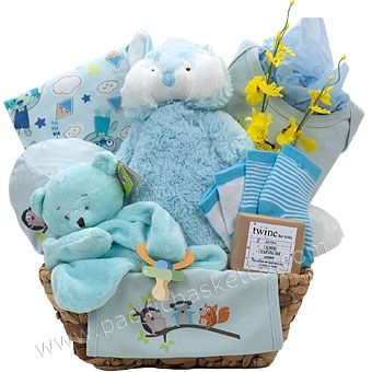 40 best baby gift baskets images on pinterest baby presents forest friends baby gift basket negle Image collections