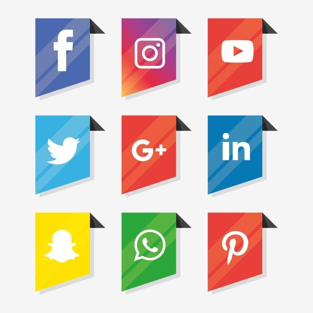 Social Media Icons Set Logo Vector Illustrator Social Icons Logo Icons Media Icons Png And Vector With Transparent Background For Free Download Social Media Icons Icon Set Media Icon