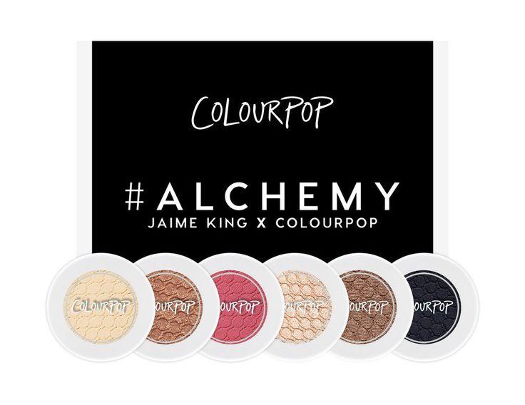 Jaime King x ColorPop #Alchemy
