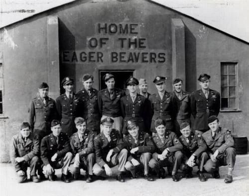 "Thurleigh Base and the 368th Squadron were known as the ""Home of the Eager Beavers""."