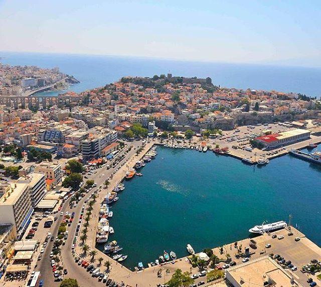The Beautiful City of Kavala in Macedonia, Northern Greece .  @Wonderful.Greece #WonderfulGreece ...