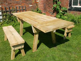 How to build an extendable picnic table