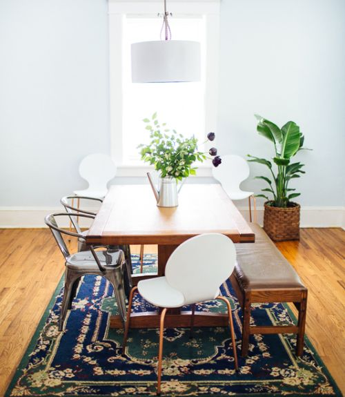 Turning a Rental into a First Home. Too much white but lots of cute touches.
