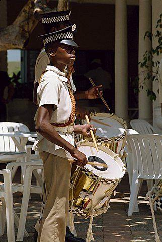 Club de los muchachos, banda de marcha, Montego Bay, Jamaica, Antillas, Caribe, América Central