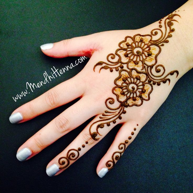 Henna hand craft for Ink craft tattoo