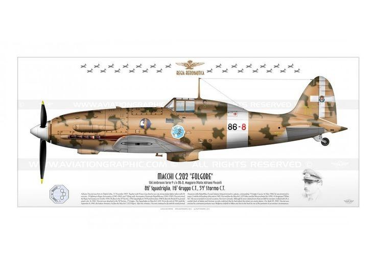 """C.202 """"Folgore"""" 86-8 JP-547"""