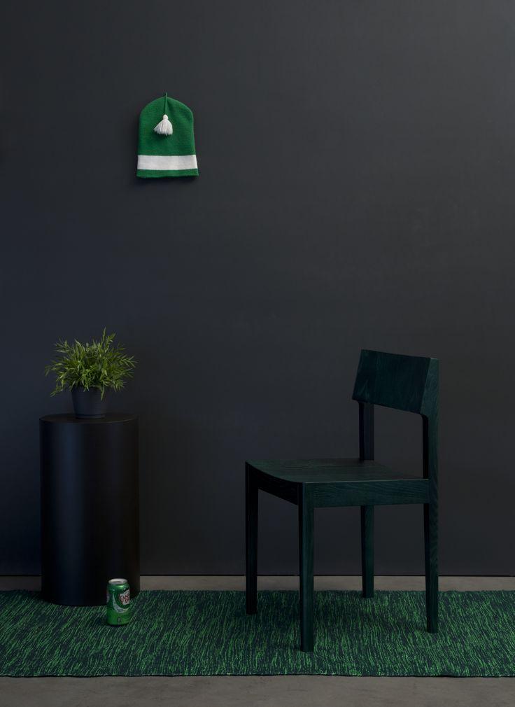 Intro C green, design Ari Kanerva