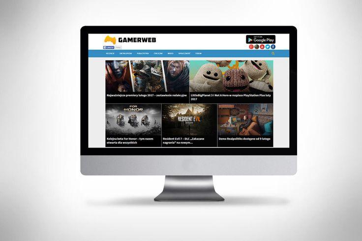 Przebudowa portalu Gamerweb.pl - Click 360 Poznań