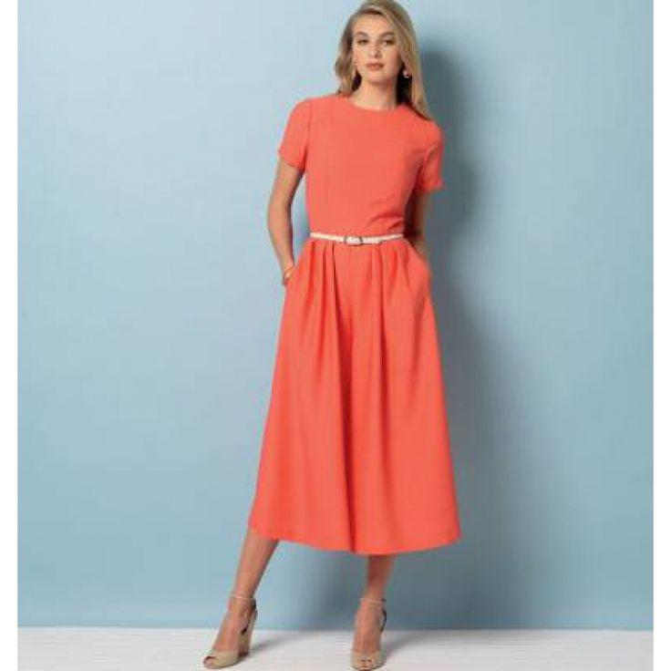 englisches Schnittmuster Vogue 9075 Sommerkleid Gr. A5...