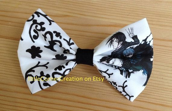 Black Butler Sebastian and Ciel  AnimeMens by LittleCornerCreation
