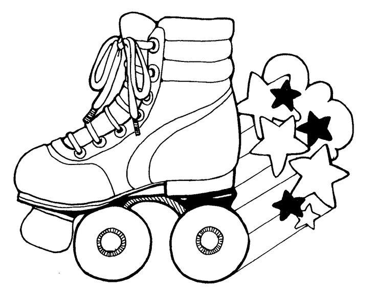 roller skate printable
