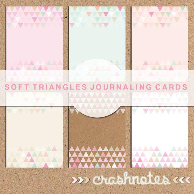 Free Printable - journaling cards