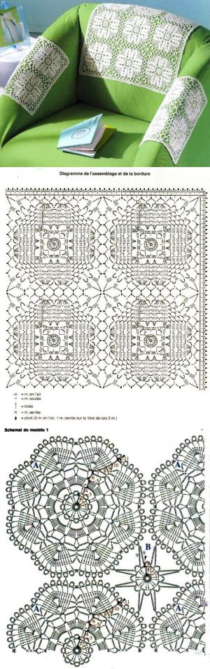 crochet lace motifs...♥ Deniz ♥                                                                                                                                                      More