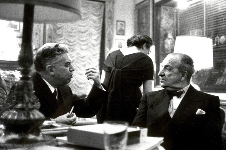 Eugenio Montale & Aldo Palazzeschi