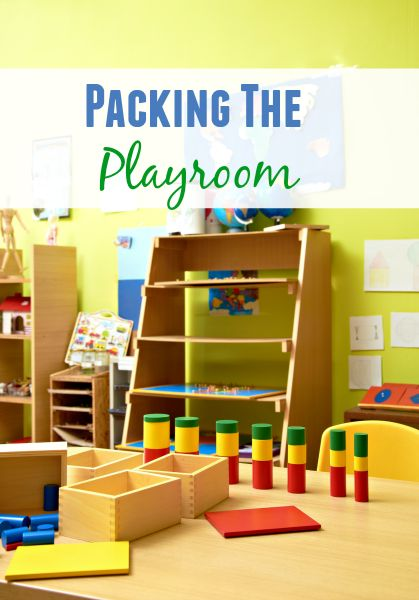 Here are some helpful tips to tame mess and pack the playroom for an upcoming move.