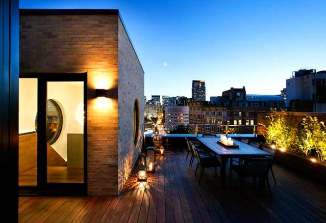 terrasse des penthouse A4