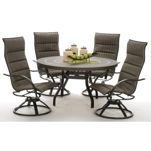 Palm Bay Padded 5 Pc Set HOM Furniture Yard And Patio