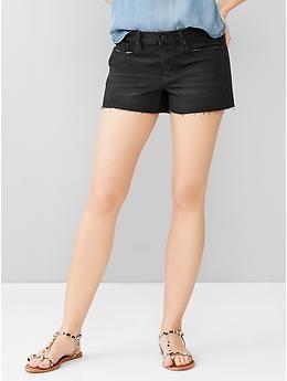 1969 slim denim shorts