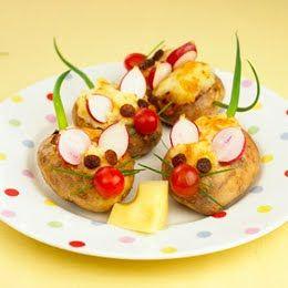 Mišičky z brambor