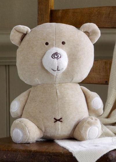 POSHme - Hug Me velurový Medvídek