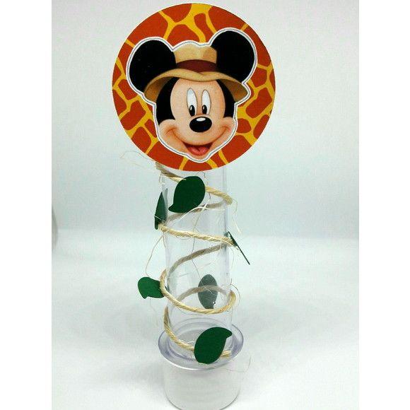 Tubete personalizado Mickey Safari