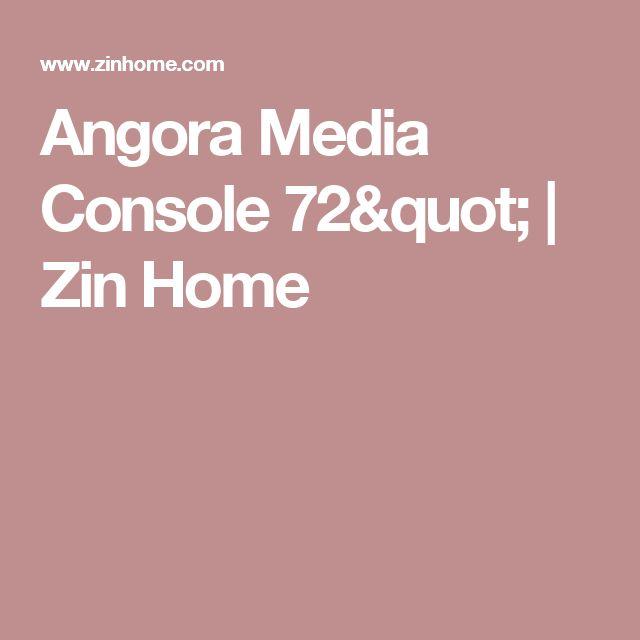 "Angora Media Console 72""   Zin Home"