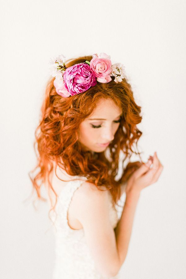 flower crown #flower #crown #romantic #natural #hairstyle #hairdo #fantasty #flowers  #floral #feminine #style #magical #beautiful #fairytale