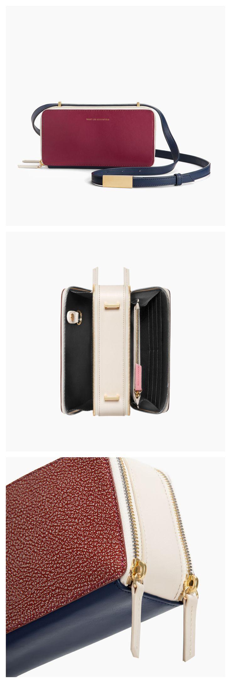 WANT Les Essentiels Demiranda shoulder bag Women's Handbags Wallets - amzn.to/2huZdIM Handbags Wallets - http://amzn.to/2i1nBxm