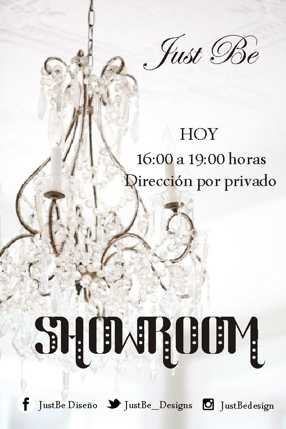 Just Be Showroom Agosto