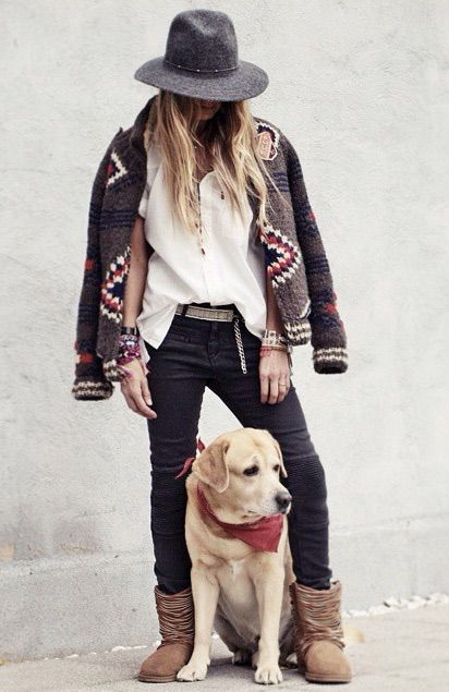☮ American Hippie Bohéme Boho Fall Style ☮