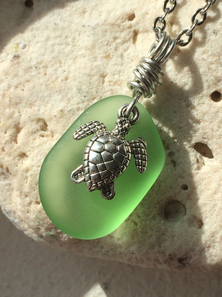 Sea turtle jewelry hand crafted 129 pinterest hawaii honu sea glass jewelry sea turtle mozeypictures Images
