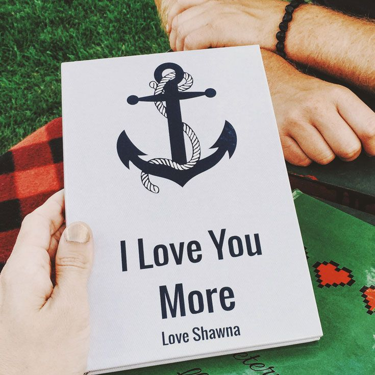 Valentine's Day is February 14th -- Get them a gift they'll love! Create your own personalized gift book that lists all the reasons why you love someone.