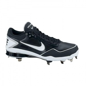 Click Image Above To Purchase: Nike Men\u0027s Shox Gamer Low Metal Baseball  Cleats