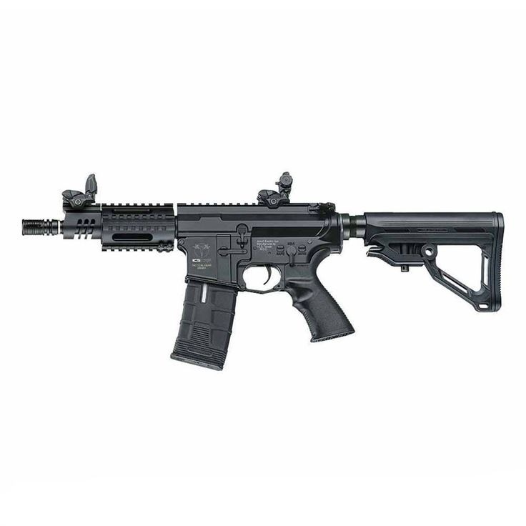 Alternate Primary - Ambidextrous.    ICS CXP-HOG CQB MTR Carbine AEG Weight: 3kg (Unloaded) Gun Length: 700/795mm Muzzle Velocity: 390-400 FPS  Magazine Capacity: 300rds