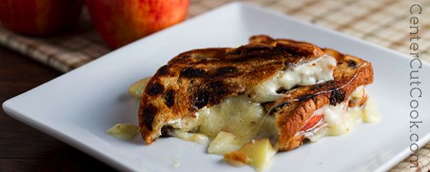 makeover and it includes creamy havarti cheese sliced apples and ...