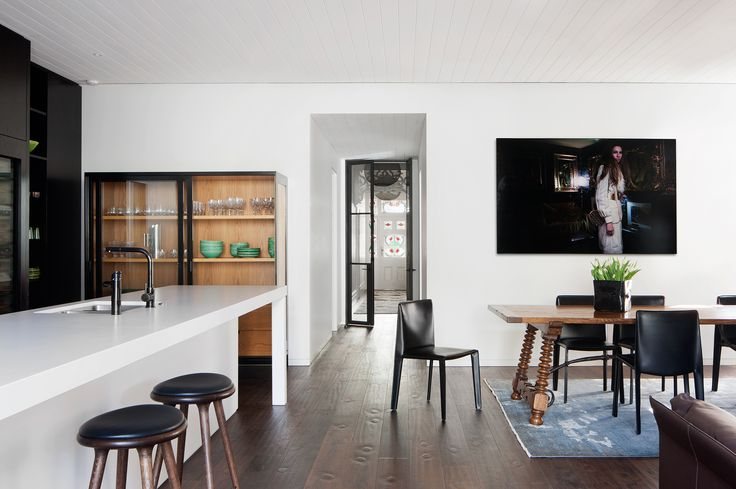 Heritage Victorian home with contemporary extension by Hindley & Co. Photography: Shannon McGrath | Styling: Leesa O'Reilly | Story: Belle
