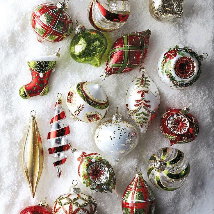 Original antique vintage christmas ornaments