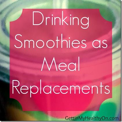 Smoothies as Meal Replacements - Tips for losing weight through healthy smoothies.