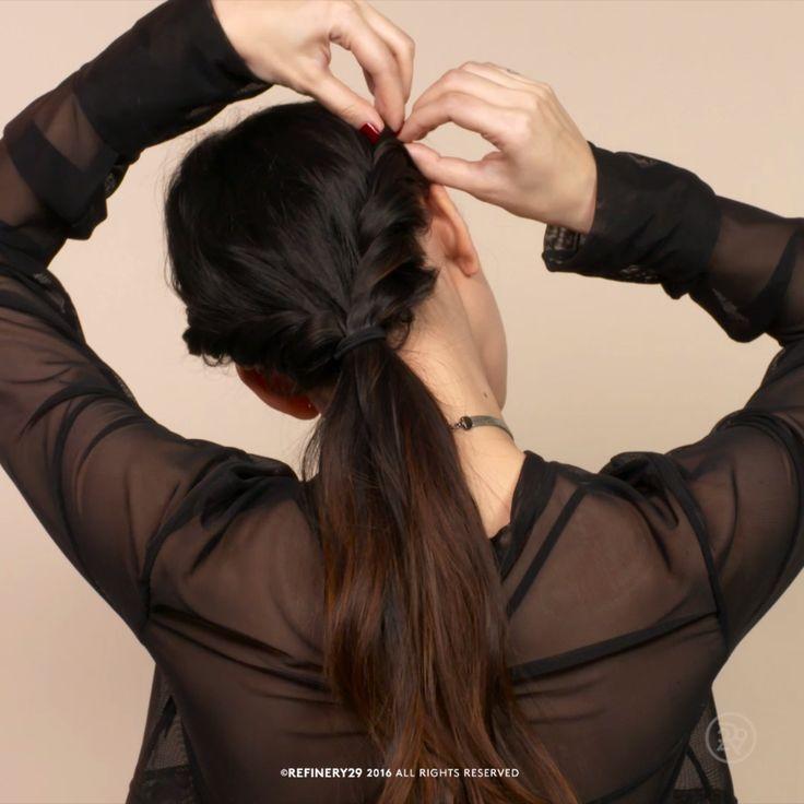 How to: Pretty two-twist pony  #hairstyle #hairstyles #pony #pretty #twist
