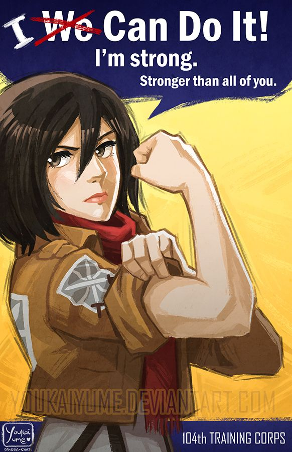 Mikasa: I Can Do It · Yume's Shop · Online Store Powered by Storenvy