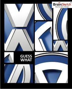 Famous brand in that particular Industry. #guesswhat   #guess   #guessup   #brand   #brainsketch