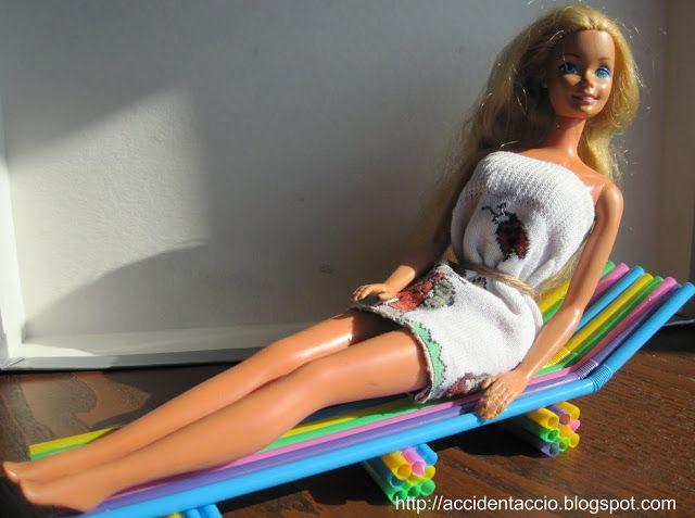 Barbie in campeggio