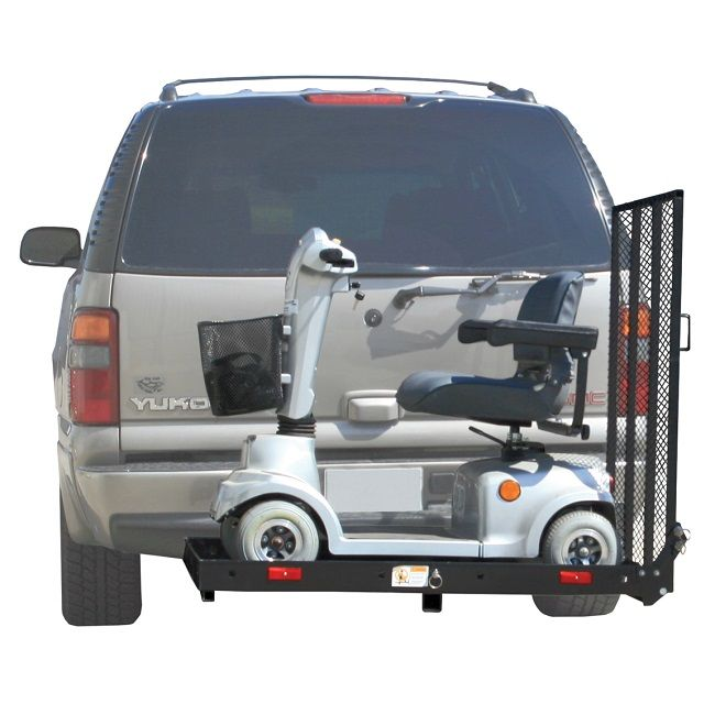 Wheelchair Hauler Homecrest Chair Covers Rage Powersports Sc400 Scooter And Power Carrier Outside Manual Vehicle Lift 325 Mg Ramps Carriers Pinterest